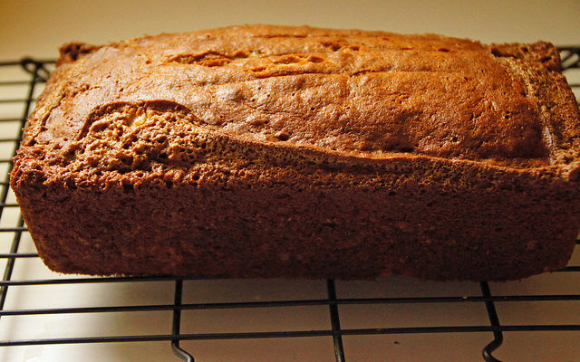 Moist, Super-food, Banana chocolate Loaf (gluten-free)