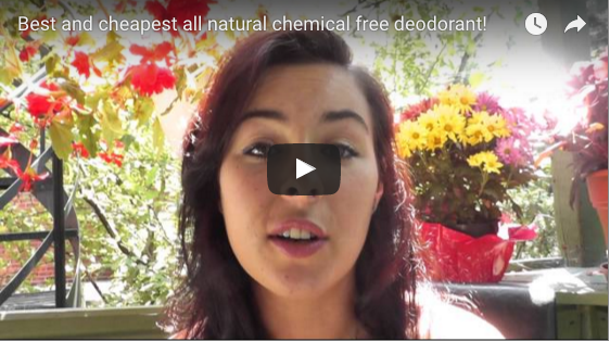 Best and Cheapest Natural Deodorant Alternative Ever! You'll never need to use synthetic, chemical commercial speedsticks again!